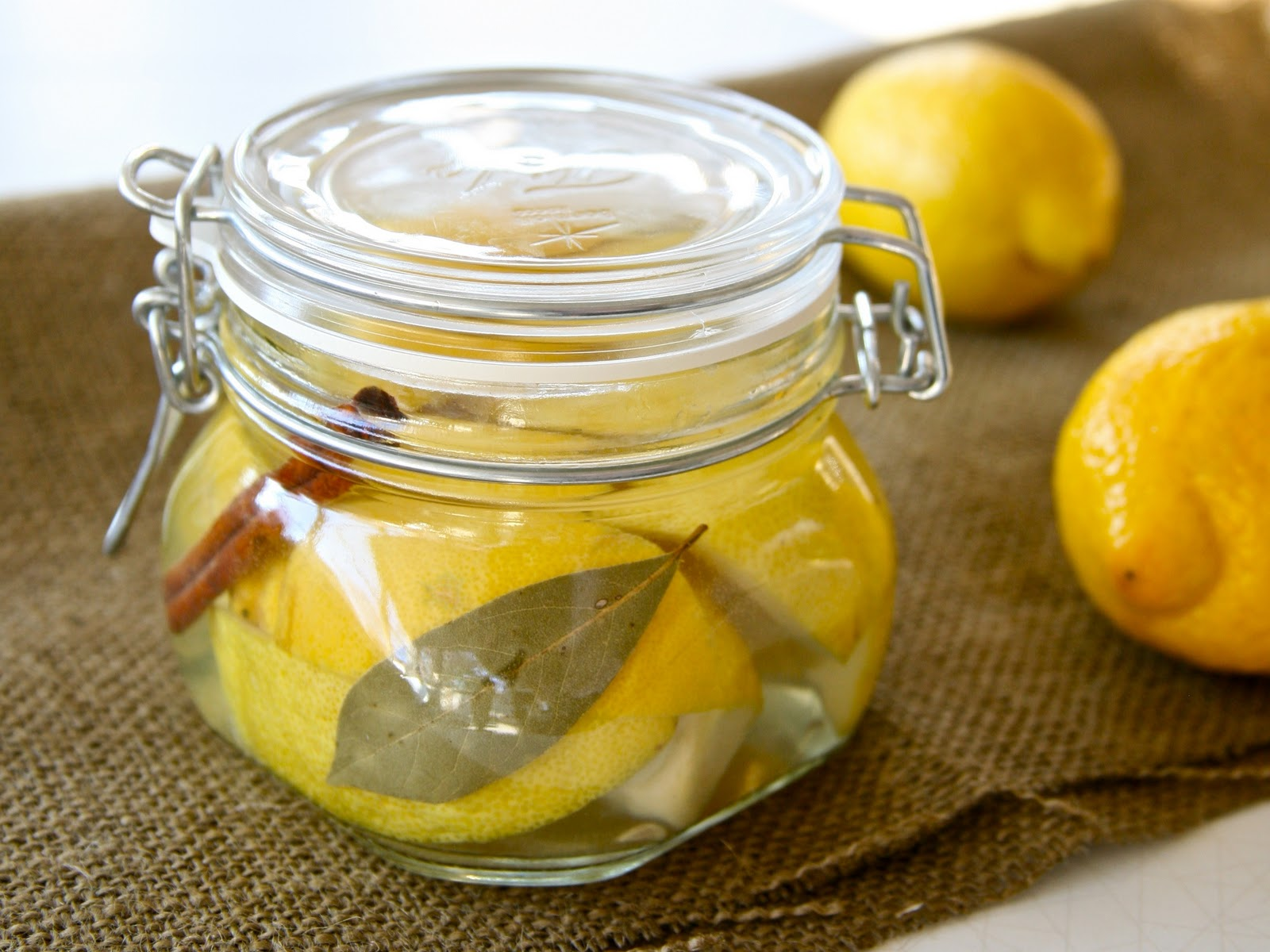 Preserved Lemons... so easy to do!