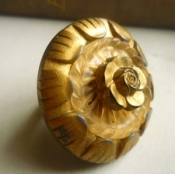 Bronze Flower Ring