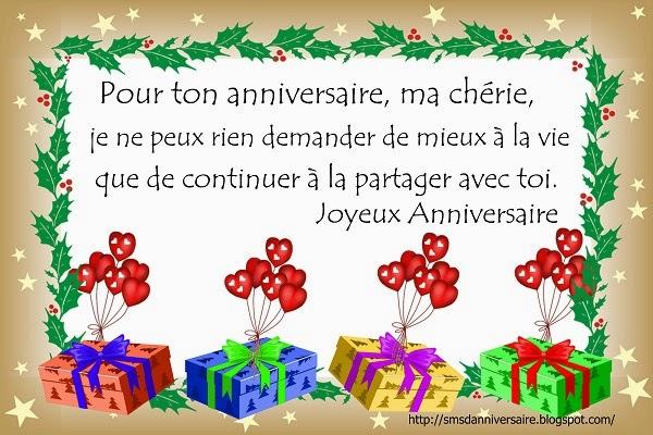 message pour un anniversaire de naissance