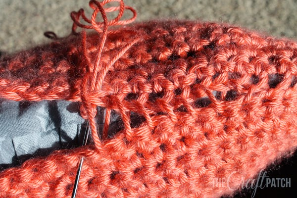 Crochet Whip Stitch : Whip Stitch