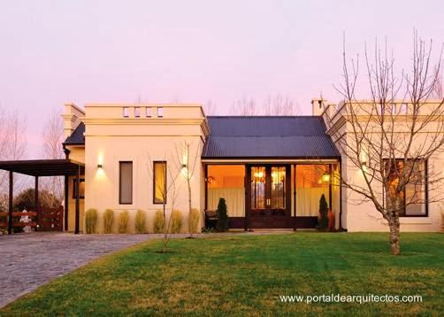 Arquitectura de casas ejemplos de casas de campo argentinas for Casa moderna en el campo