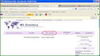 daftar blok ke w3-directory