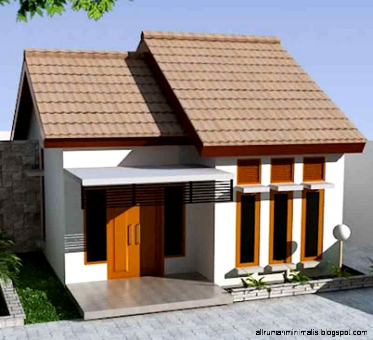 Rumah Minimalis Sederhana 1 Lantai   Denah Rumah Sederhana