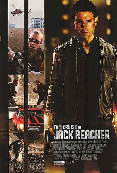 jack reacher, tom cruise