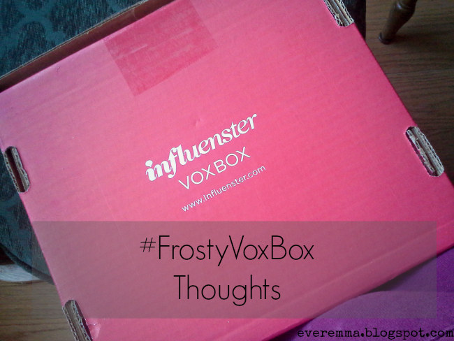 #FrostyVoxBox Thoughts Part II