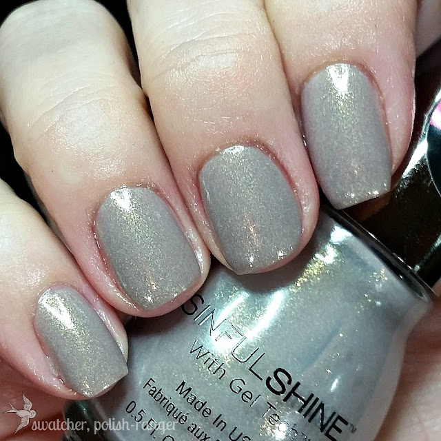swatcher, polish-ranger | Sinful Shine Prosecco swatch