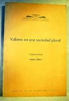 """""""Valores en una sociedad plural"""" - Adela Cortina"""