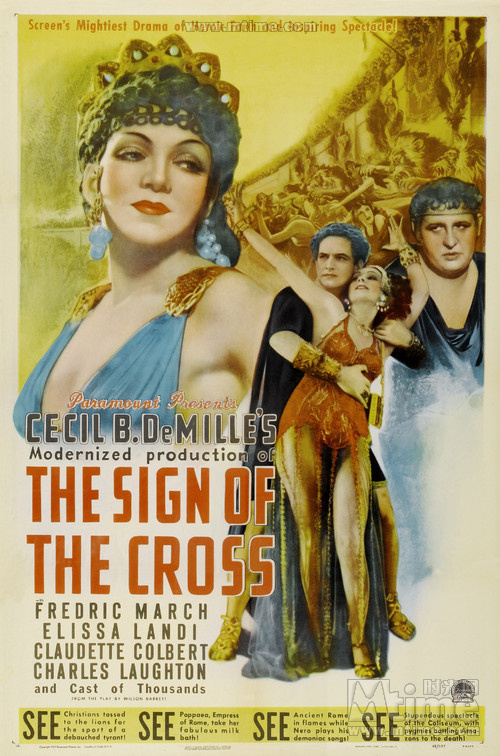 The Sign of the Cross (1932), 罗宫春色 Luō gōng chūn sè