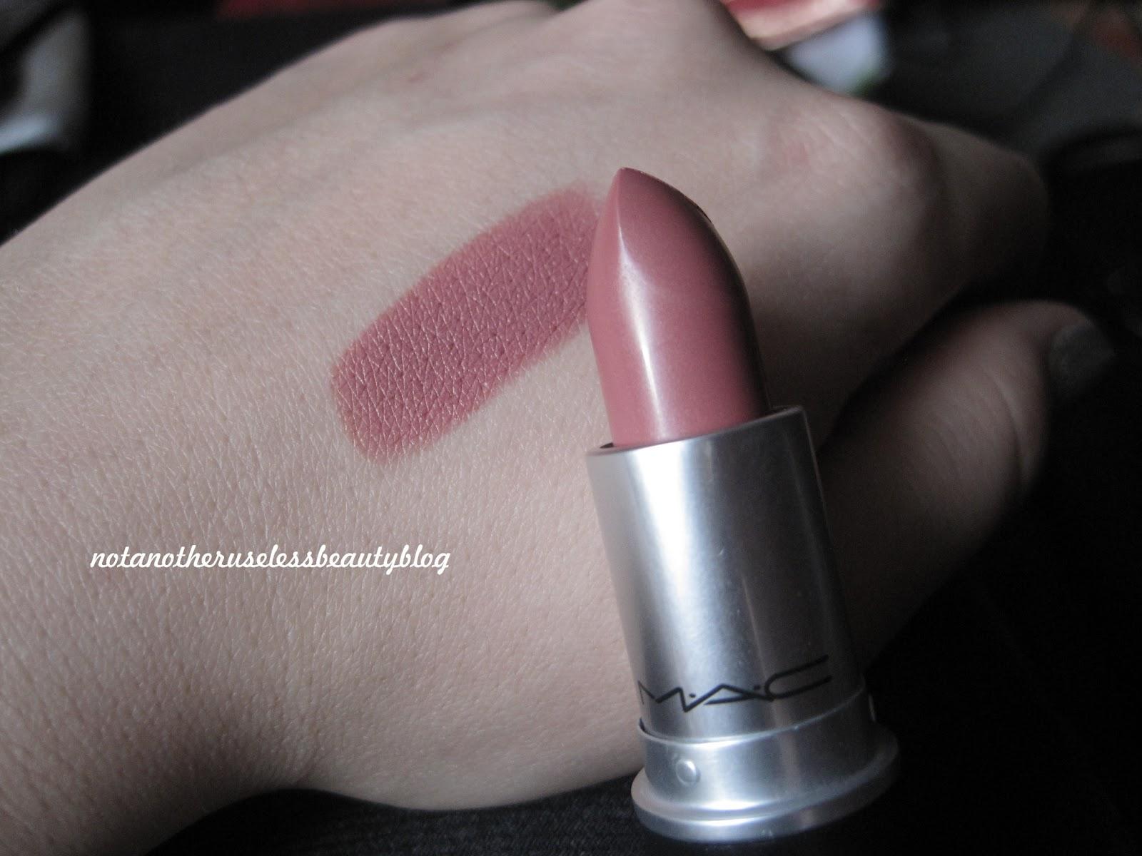 not another useless beauty blog mein erster mac lippenstift. Black Bedroom Furniture Sets. Home Design Ideas
