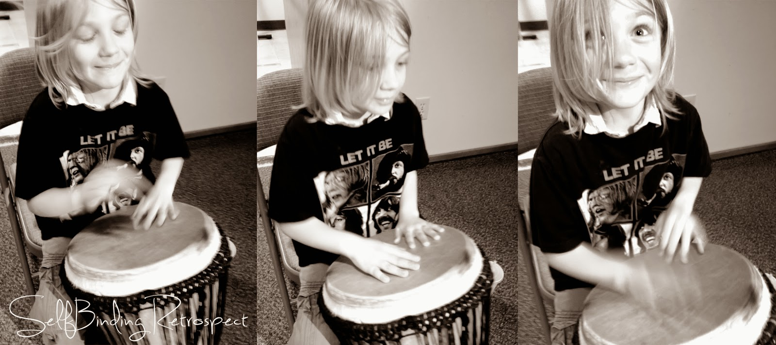 Bang a drum, SelfBinding Retrospect by Alanna Rusnak