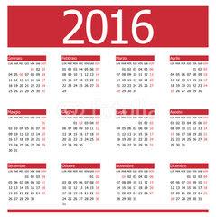 Calendari Competicions Oficials 2016