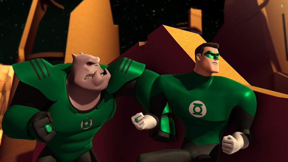 temporal flux green lantern the animated series premiere