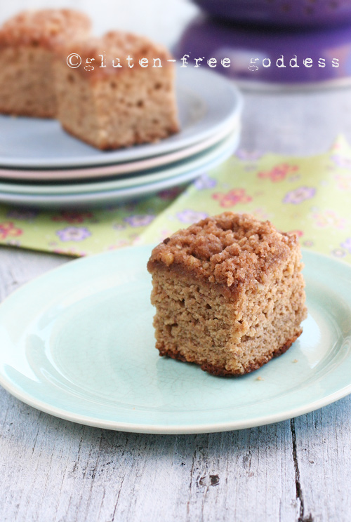 Gluten-Free Banana Crumb Cake