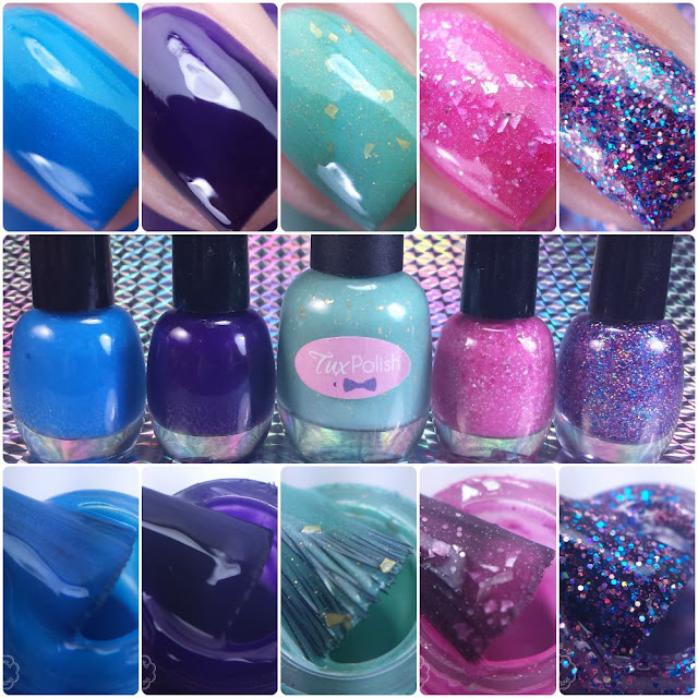 Tux Polish Swatches & Review