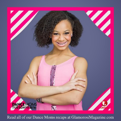 Nia Frazier, star of Dance Moms on Lifetime