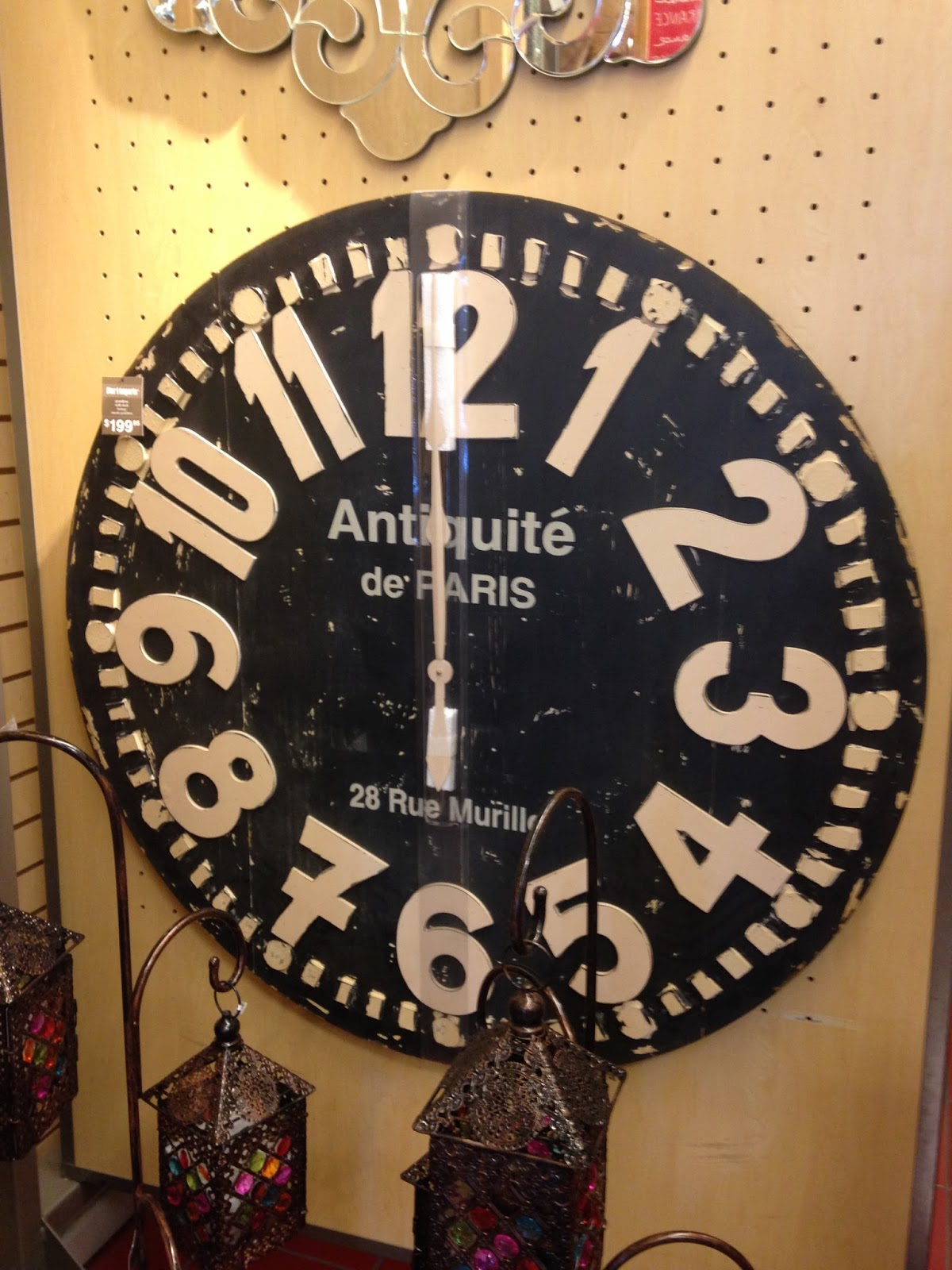 Lets go shopping pier one joann fabrics homegoods and hobby lets go shopping decor inspiration from pier one joann fabrics homegoods and wall clock amipublicfo Gallery