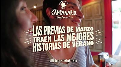 Pisco Campanario y sus #HistoriasDeLaPrevia
