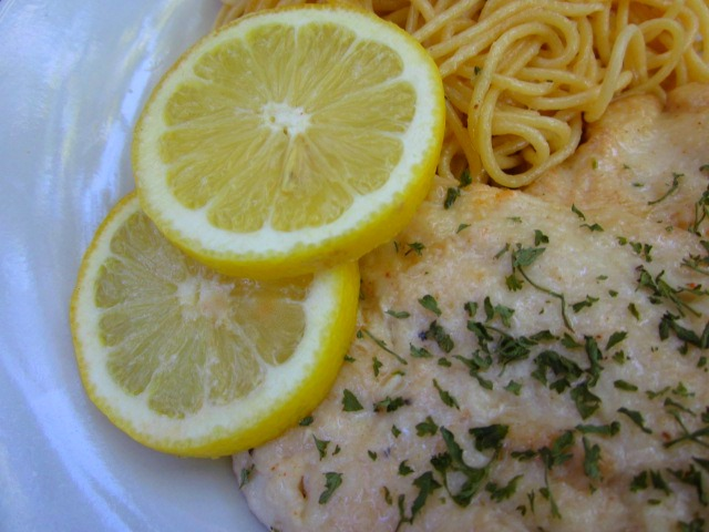 Lemon Herb Chicken with Pasta