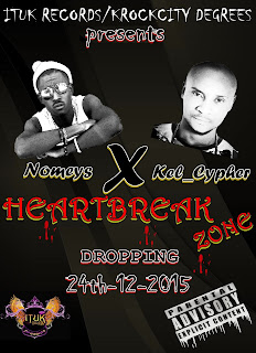 "Music: Nomeys X Kel Cypher ""Heart Break Zone (prod. By H. K BEAT)"