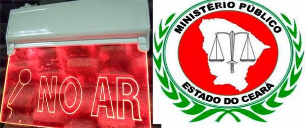 MP no rádio de Senador Pompeu. Imagem no ar. Walter Lima