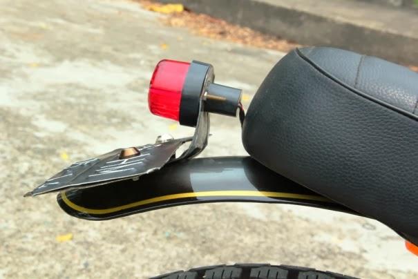 Honda GL Max Modifikasi Aliran Daily Tracker Terbaru 2014