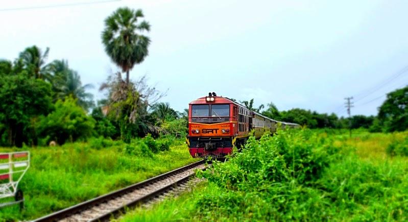 Bahn in Thailand
