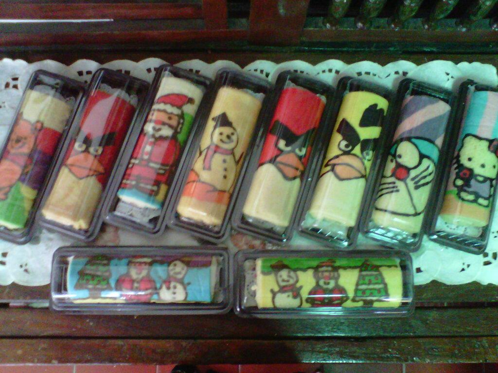 Resep Bolu Gulung Karakter Kartun | butik.work