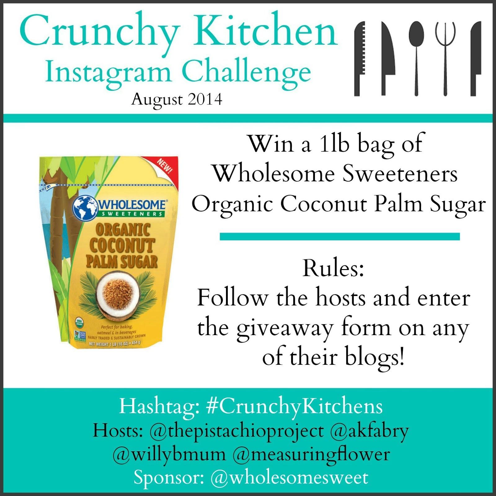 Crunchy Kitchens Instagram Challenge Giveaways