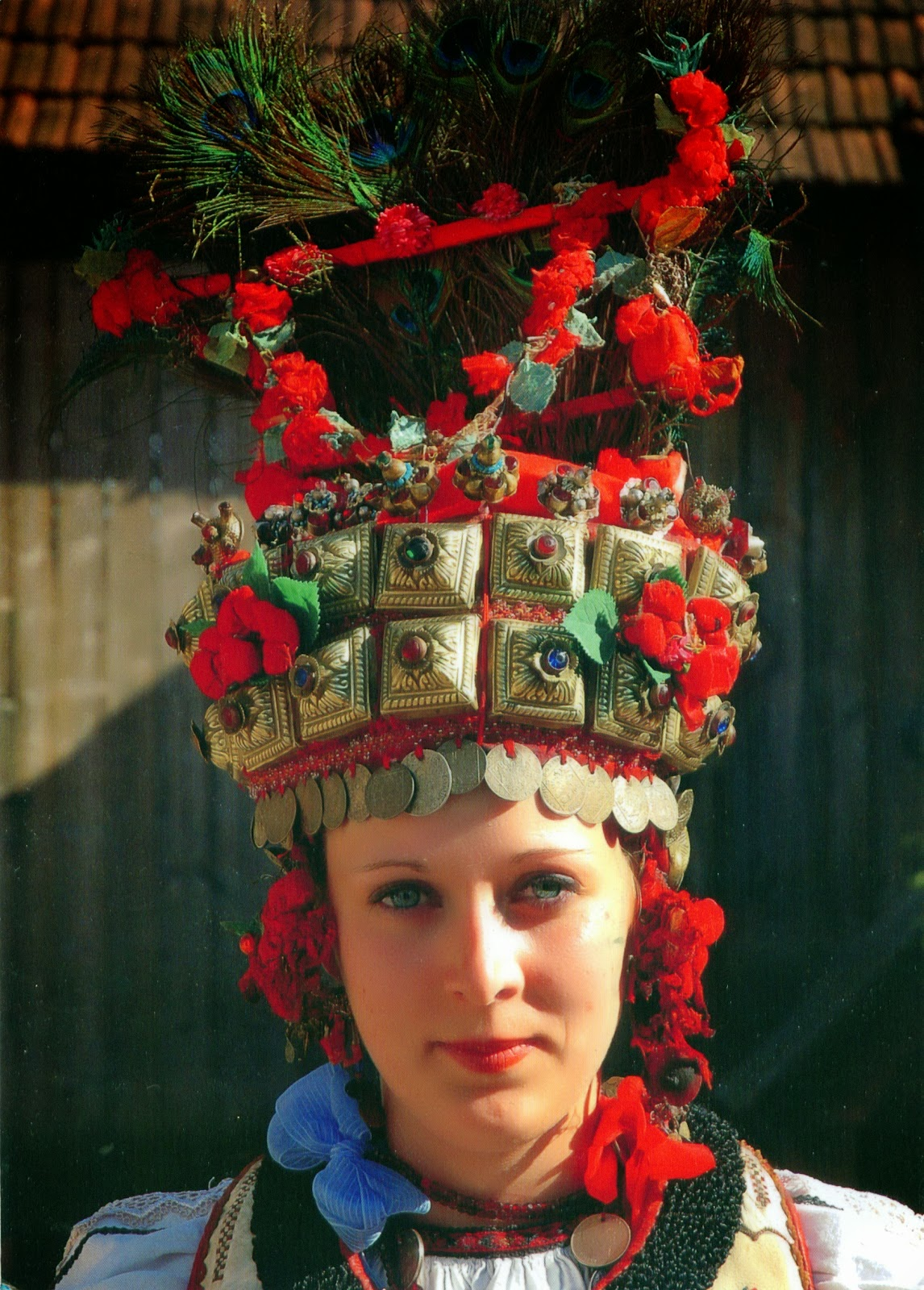 Traditional Wedding Dress At Rupea Romania Postcards Voyage