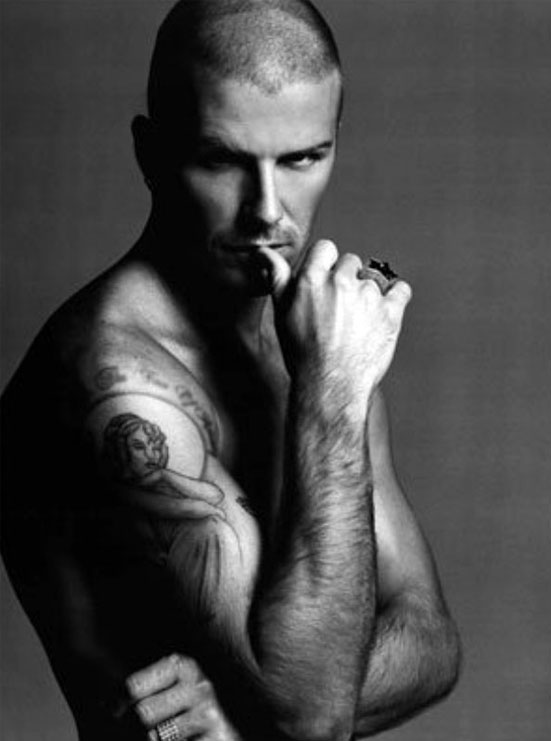 david beckham tattoos pictures images. David Beckham Tattoos