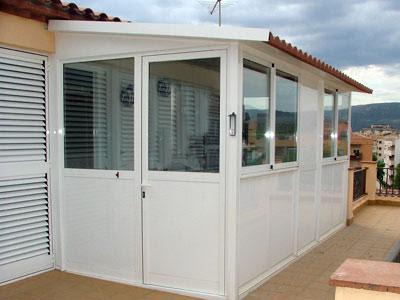 Cerrajeria ramajo cerramientos de aluminio for Casetas aluminio para terrazas