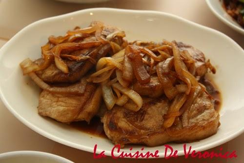 La Cuisine De Veronica, V女廚房, 豬扒, 洋蔥豬扒