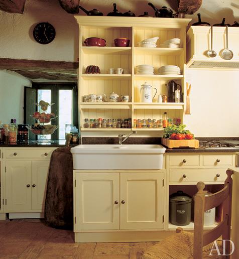 Yellow Farmhouse Kitchen: Yellow Stepback Kitchen Love