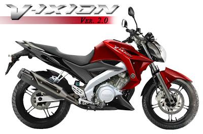 Yamaha New V-Ixion 2013 Terbaru : Harga dan Spesifikasi