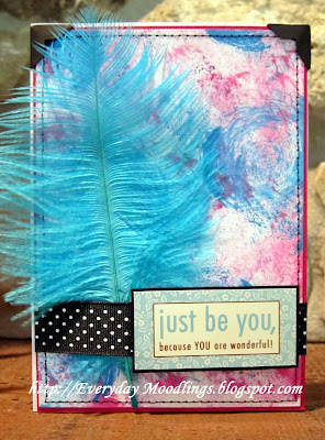 """Just Be You"" card"