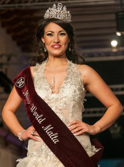 Miss World Malta 2012 winner Daniela Darmanin