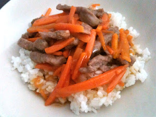 Cocina con Aníbal Ternera con zanahorias