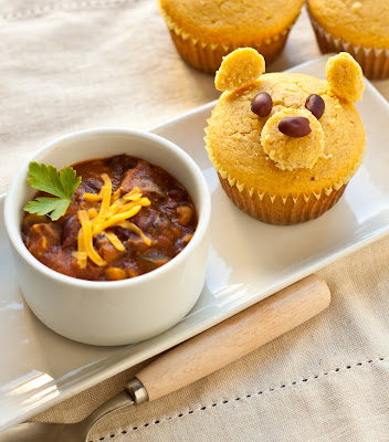 Chili In A Corn Muffin Food Network