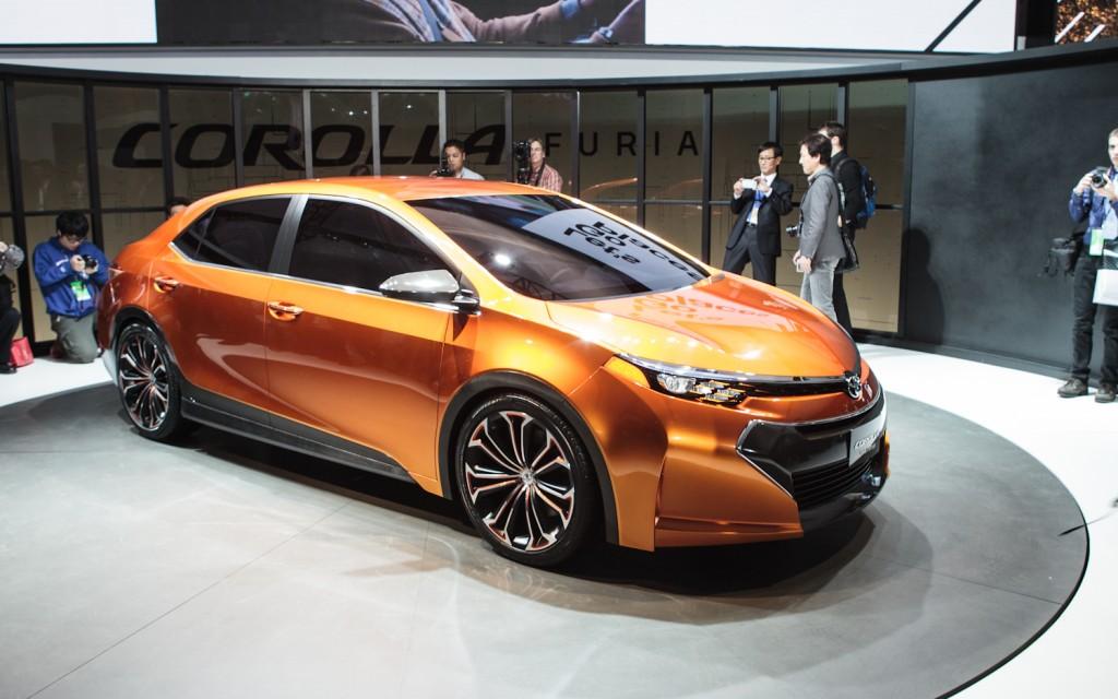 New Toyota Corolla 2014