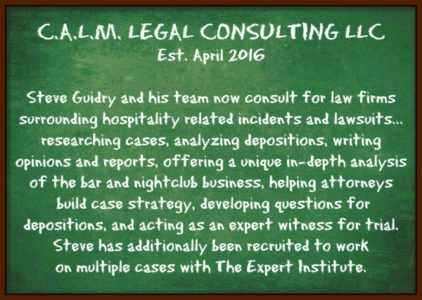 C.A.L.M. Bar Safety Legal Consulting