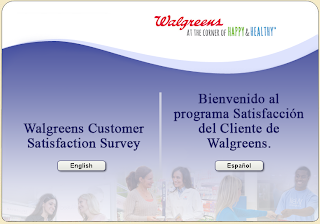 Tell WAG Walgreens Customer Survey