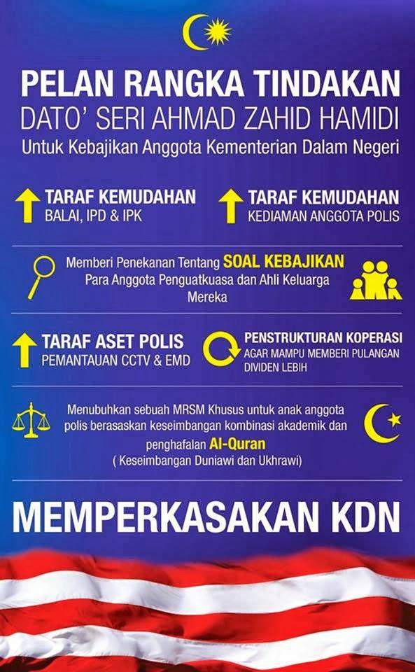 Rangka Tindakan DSZH Untuk KDN