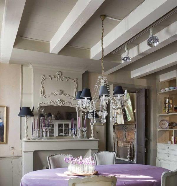Beauty Houses Purple Twilight Interior Designs House