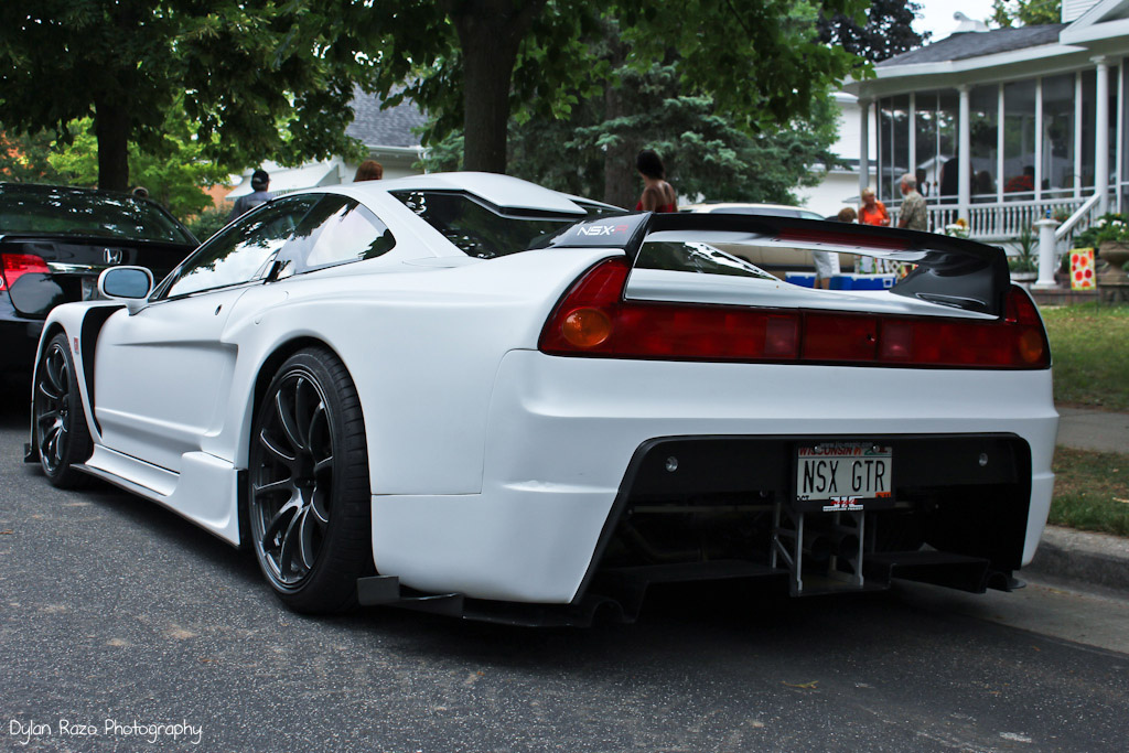 Honda NSX VTEC V6 japoński sportowy samochód supercar kultowy piękny desing tuning