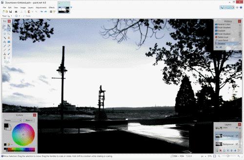aplikasi edit foto gratis terbaru terbaik paint.net