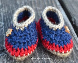 patriotic booties
