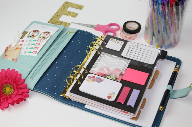 the chic country girl diy sticky note planner dashboard