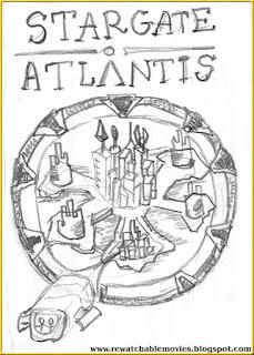 Stargate: Atlantis Sketch Poster