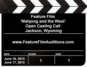 Mahjong and the West Wyoming Open Casting Calls