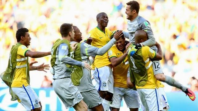 Brasil ganó a Chile en los penaltis